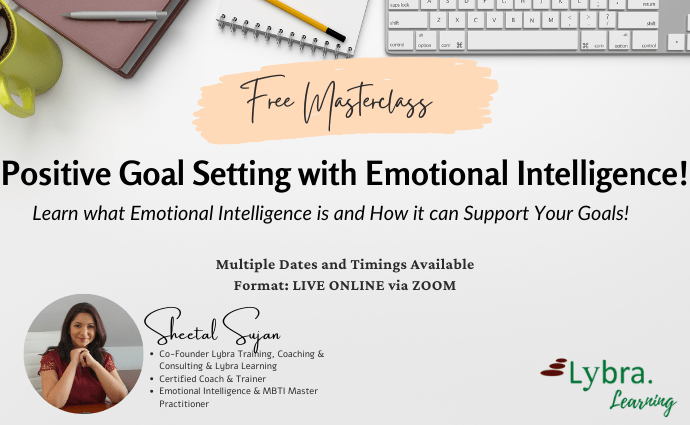 Positive Goal Setting with Emotional Intelligence Masterclass Post Website